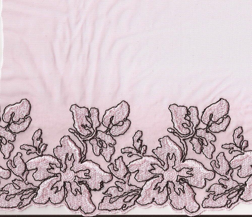 Вечерние платья из вышивки на сетке