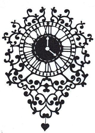 Часы D-E012 ширина 20 см, высота 27,5 см